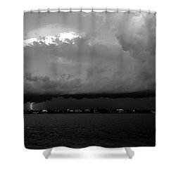 Light From The Darkness Shower Curtain by David Lee Thompson