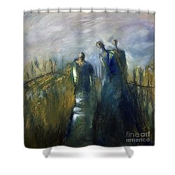 Light In Her Life Shower Curtain