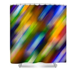 Light In Motion Shower Curtain