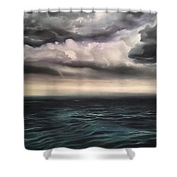Light In The Darkness  Shower Curtain