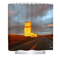 Light Just Right Shower Curtain by Janice Westerberg