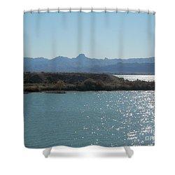 Light Linked Shower Curtain