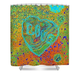 Light Love By Jasna Gopic Shower Curtain