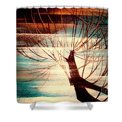 Light Melody Shower Curtain