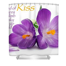 Shower Curtain featuring the photograph Light My Lips by David Norman