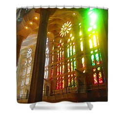 Light Of Gaudi Shower Curtain