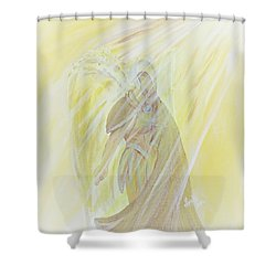 Light Of God Surround Us Shower Curtain