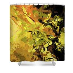Light Of Gold Shower Curtain