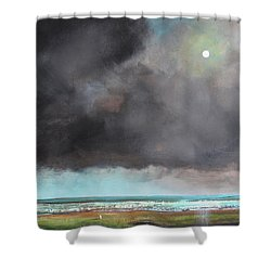 Light Of Hope Shower Curtain by Toni Grote