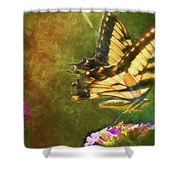 Light On Beauty Shower Curtain