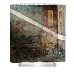 Light On The Past Shower Curtain