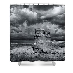 Light On The Rock Shower Curtain