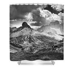 Light On The Valley Shower Curtain by Yuri Santin