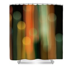 Light Painting No. 1 Shower Curtain