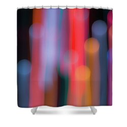 Light Painting No. 3 Shower Curtain