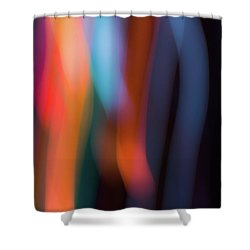 Sky And Prism Shower Curtain