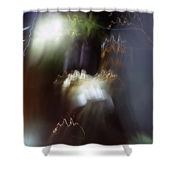 Light Paintings - No 4 - Source Energy Shower Curtain