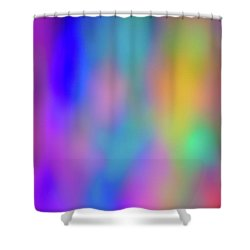 Light Painting No. 6 Shower Curtain