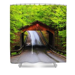 Light Rain On Pierce Stocking Drive 2 Shower Curtain