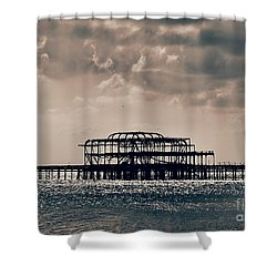 Light Shower Shower Curtain