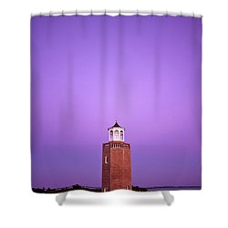 Light Switch Shower Curtain by Evelina Kremsdorf