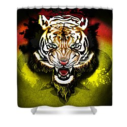 Light The Torch Shower Curtain