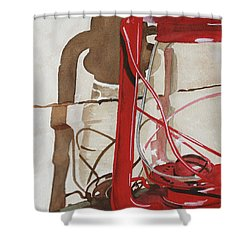 Light The Way Shower Curtain by Cynthia Powell