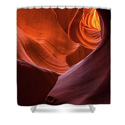 Light Tunnel - Antelope Lower Shower Curtain