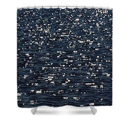 Light Waves #3 Shower Curtain by Tim Good