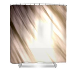 Light Waves Shower Curtain