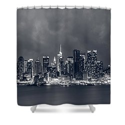 Light Will Drive Out Darkness Shower Curtain