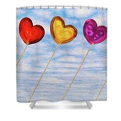 Lighter Than Air Shower Curtain by Jeff Kolker