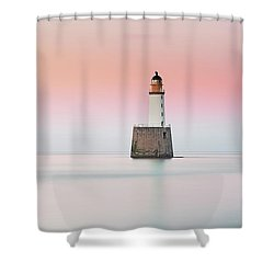 Shower Curtain featuring the photograph Lighthouse Hues by Grant Glendinning