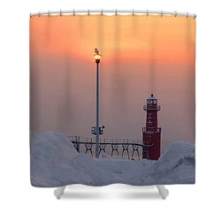 Lighthouse Keeper Shower Curtain