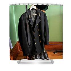 Lighthouse Keeper Uniform Shower Curtain