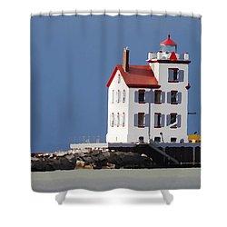 Lighthouse Oils Shower Curtain