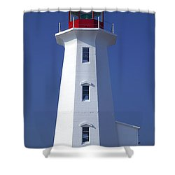 Lighthouse Peggy's Cove Shower Curtain by Garry Gay