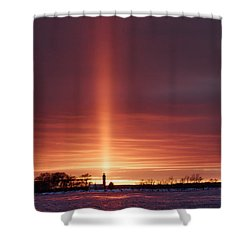 Lighthouse Point Head Light Shower Curtain