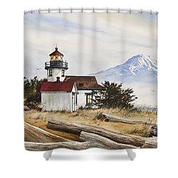 Lighthouse Splendor Shower Curtain