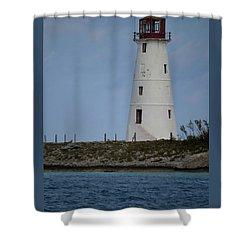 Lighthouse Watch Shower Curtain