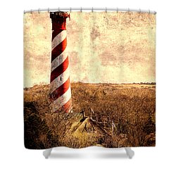 Lighthouse Westerlichttoren Shower Curtain