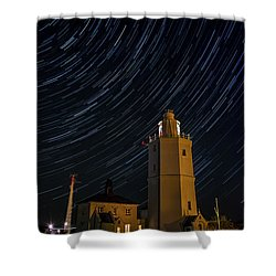 Lighting The Sky Shower Curtain