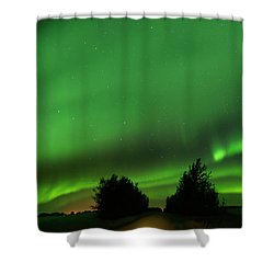 Lighting The Way Home Shower Curtain