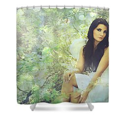 Lightness Shower Curtain by Laurie Search