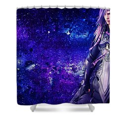 Lightning Returns Final Fantasy Xiii Shower Curtain