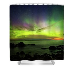 Lights 2 Shower Curtain