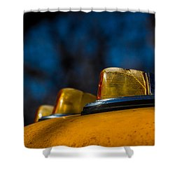 Shower Curtain featuring the photograph Lights by Jay Stockhaus