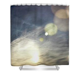 Shower Curtain featuring the photograph Lightshow by Colleen Kammerer