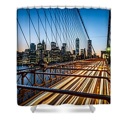 Lightwave Shower Curtain