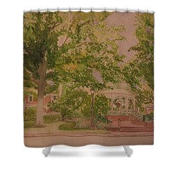 Ligonier Pa Gazebo 2 Shower Curtain